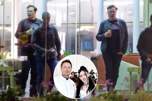 Elon Musk spotted for the first time since Grimes split