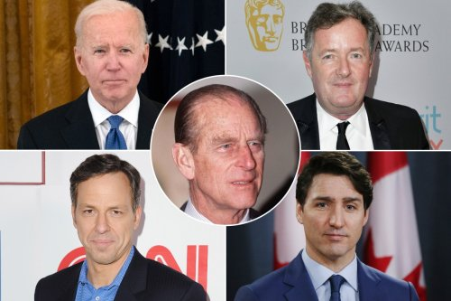 Celebrities react to Prince Philip's death: Piers Morgan and more