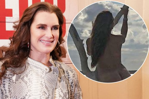 Brooke Shields shares stunning nude photo in honor of Earth Day 2021