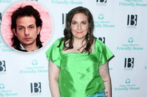 Lena Dunham dating Peruvian English musician Luis Felber
