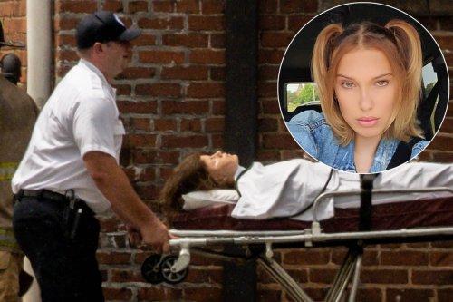 Millie Bobby Brown spotted filming dramatic scene for 'Stranger Things'