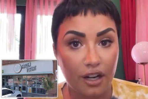 Demi Lovato apologizes to LA froyo chain, ends this week's weirdest feud