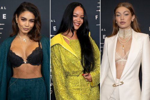 Celebrities hit the red carpet for Rihanna's Savage X Fenty Vol. 3 show