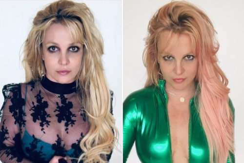 How Britney Spears' hairstylist transformed her blond hair to pink