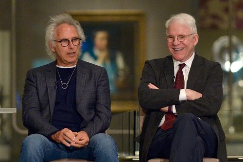 Steve Martin invited artist Eric Fischl to St. Barts as soon as they met