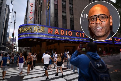 Dave Chappelle reopens Radio City: 'I made my name in New York City'