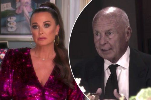 Kyle Richards says she 'heard' about Tom Girardi's alleged cheating