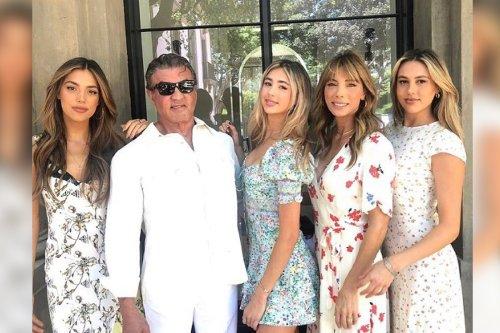Sylvester Stallone celebrates daughter Scarlet's high school graduation