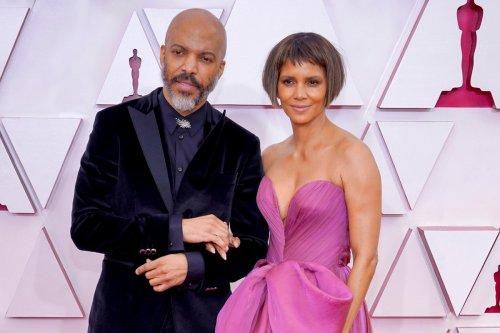 Halle Berry attends Oscars 2021 with boyfriend Van Hunt