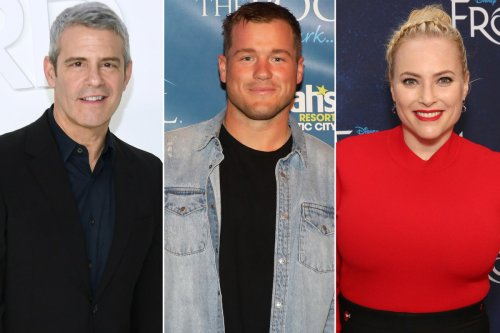 Andy Cohen, Meghan McCain support Colton Underwood after he comes out