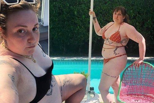 Lena Dunham's most body-positive photos on Instagram