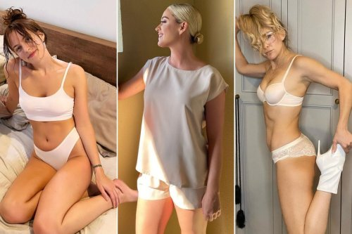 Kate Hudson and more stars strip down to their underwear for a cause