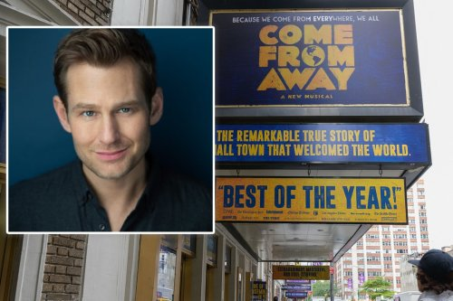 Broadway star claims he was fired by 'Come From Away' for Christian beliefs