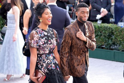 How Chadwick Boseman's widow Taylor Simone Ledward is prepping for the Oscars