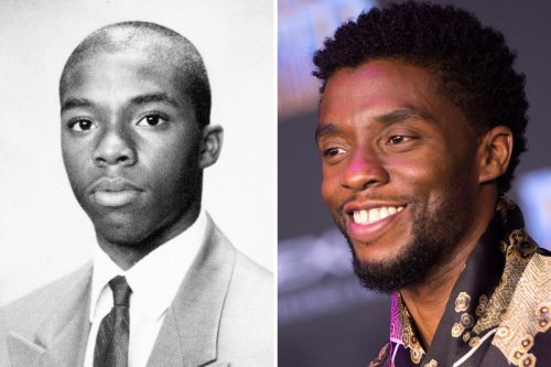 See what Oscar-nominated actor Chadwick Boseman was like in high school