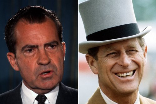 Prince Philip once apologized to Richard Nixon for being 'lame'