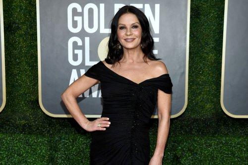 How Catherine Zeta-Jones dodged a Golden Globes wardrobe malfunction