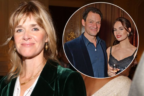 Dominic West's wife says they are 'totally devoted' after Lily James scandal