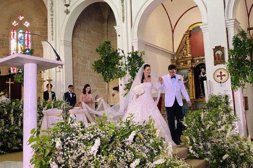 Fendi heir Paola Fendi marries Aram Ahmed in elegant Ibiza wedding