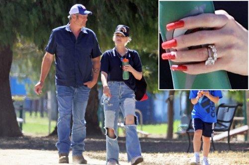 Exclusive photos show Gwen Stefani, Blake Shelton may have secretly wed