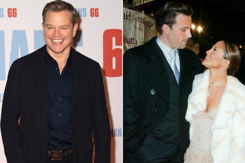 Matt Damon hopes Ben Affleck and Jennifer Lopez are back together