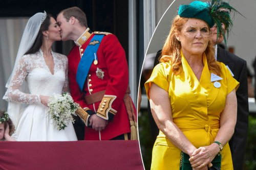 Sarah Ferguson wasn't 'worthy' of attending William and Kate's wedding