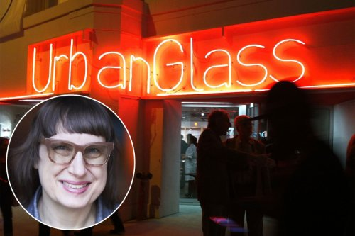 Glass blower's 'glory hole' confuses at virtual art gala
