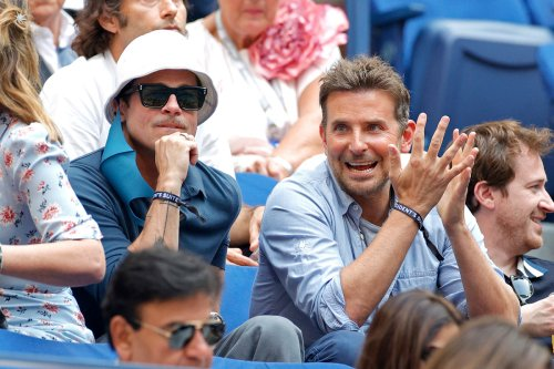 Brad Pitt and Bradley Cooper bro out at the US Open 2021