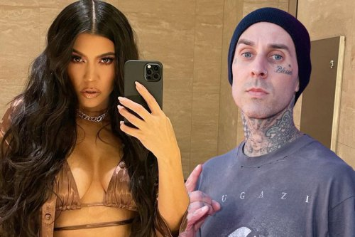 Kourtney Kardashian posts article on 'rough sex' amid Travis Barker romance