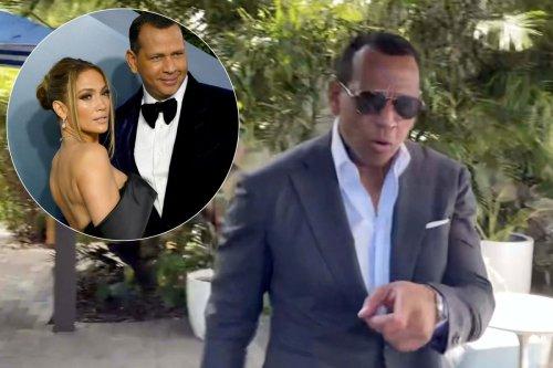 Alex Rodriguez seen for first time since Jennifer Lopez, Ben Affleck trip