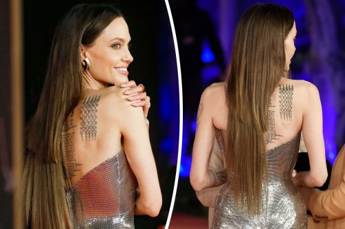 What went wrong with Angelina Jolie's extensions, according to an expert