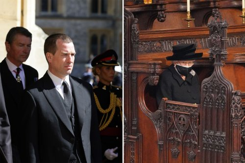 'Hardest part' of Philip's funeral was not being able to hug the Queen, grandson says
