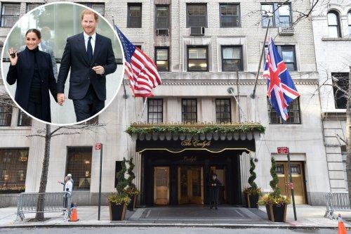 Prince Harry and Meghan Markle check into Princess Diana's favorite NYC hotel