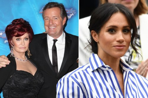 Sharon Osbourne defends Piers Morgan's Meghan Markle criticism