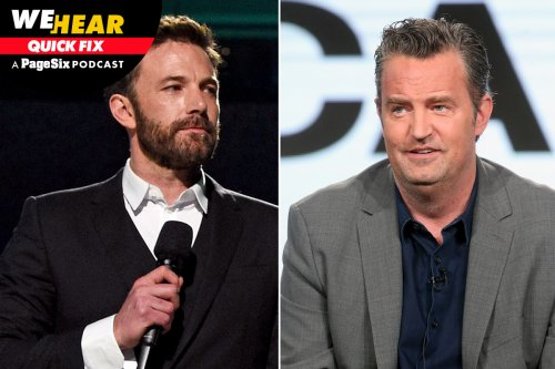 Ben Affleck and Matthew Perry get called out, Lin-Manuel Miranda sparks buzz, more