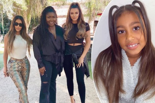 Kim and Khloé Kardashian meet fan behind North West parody account