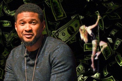 Usher slammed for allegedly using fake money at Las Vegas strip club