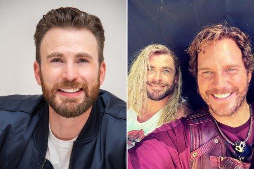 Chris Evans turns 40, gets roasted by Chris Hemsworth and Chris Pratt