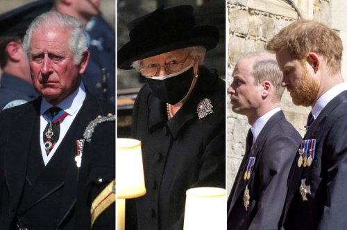 Body language expert dissects royal family during Prince Philip's funeral
