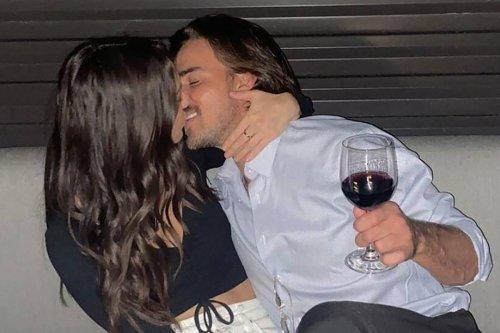 Noah Erb crashes car into house while kissing Abigail Heringer