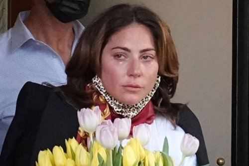 Lady Gaga cries after wrapping 'House of Gucci' and more star snaps
