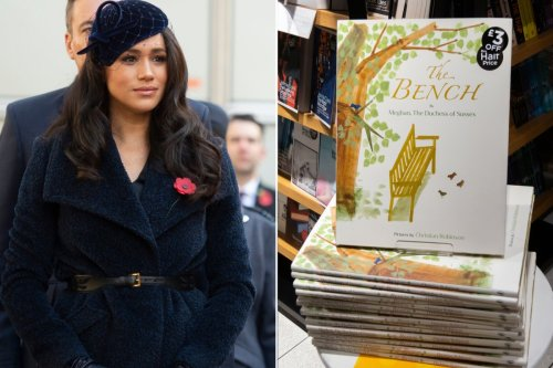 Meghan Markle's book 'The Bench' fails to make top-50 list in the UK
