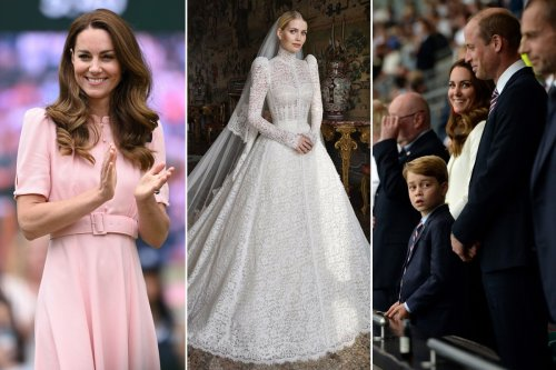 From Kitty Spencer's wedding to Wimbledon: Summer's top royal style moments