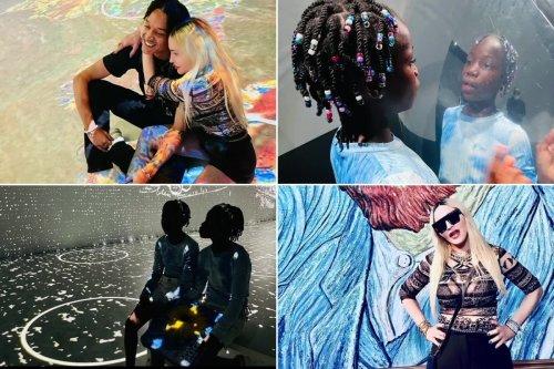 Inside Madonna's trip to immersive Van Gogh exhibit with kids, boyfriend