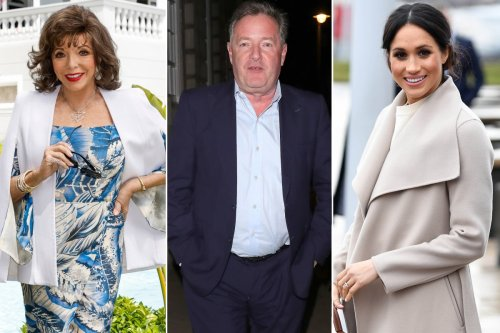 Piers Morgan shut down by Joan Collins over Meghan Markle question