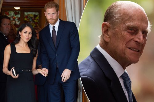 Harry and Meghan's 'heartbreak' over Philip's death added to biography