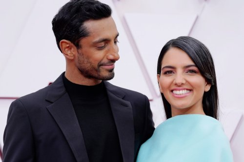 Riz Ahmed and wife Fatima Farheen Mirza make red carpet debut at Oscars 2021