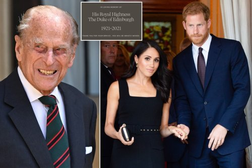 Prince Harry and Meghan Markle mourn Prince Philip with statement