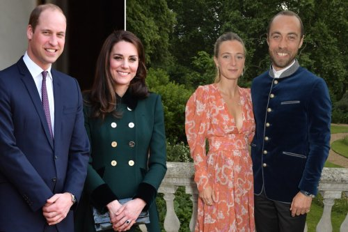 Prince William and Kate Middleton celebrate her brother's French wedding