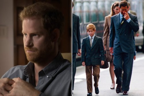 Prince Harry slams dad Charles for making him 'suffer' as child